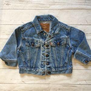 Vintage 70s Little Levis Denim Jacket 2t